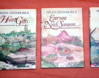 INSPIRATIONAL Helen Steiner Rice Poetry Set Great Artwork Not Even Broke In FREE SHIPPING