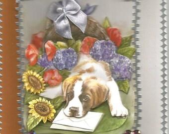 Dank U Kaarten Honden Etsy