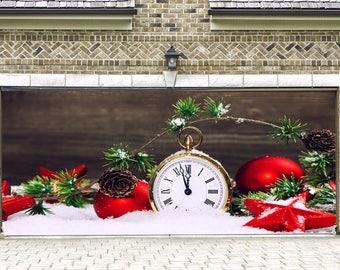 3D Banner, Geschenke Zeichen, Garage Tür Abdeckung, Voller Farbe  Weihnachten Tür Wandbilder, Außen Haus Dekorationen Billboard, Wall Art  DAV27