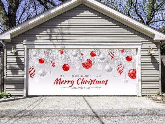 Merry Christmas Garage Door Decor Psoriasisguru Com