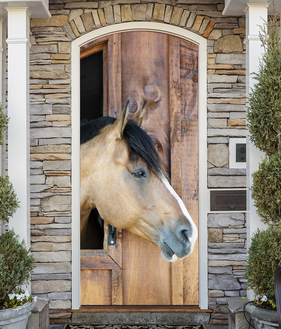 Horse Decoration For House Animal Horse Banner Front Door Etsy