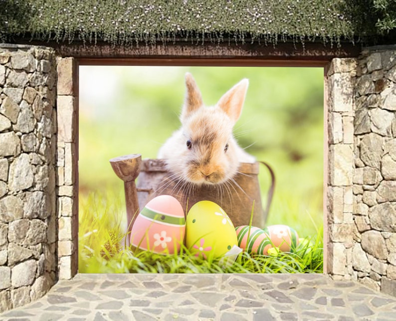 Parfait Banderole Joyeuses Pâques. Lapin De Pâques Décoration   Etsy