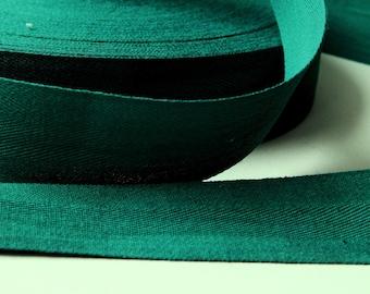 50 cm 3 cm width green Twill cotton Ribbon