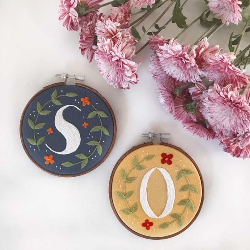 Custom Letter Embroidery