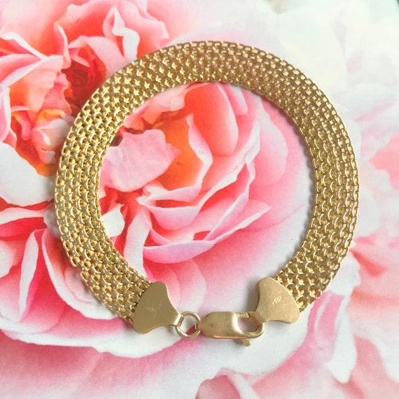 Gold Bracelet Vintage 60s