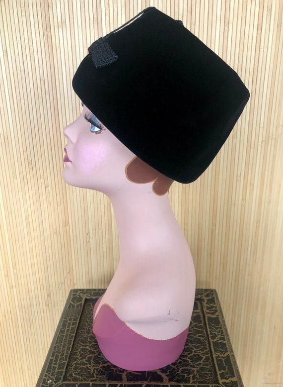 "Vintage 1960's Black Velvet Christian Dior ""Miss … - image 3"