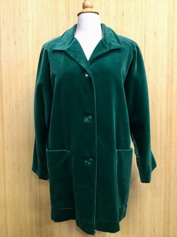 Vintage Marguerite Rubel San Francisco Emerald Gre