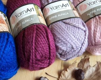 08cd43d21be Yarn YarnArt Alpine Alpaca 150 g bulky yarn super chunky yarn thick yarn  scarf big yarn giant yarn snud yarn hat yarn cap yarn alpaca yarn