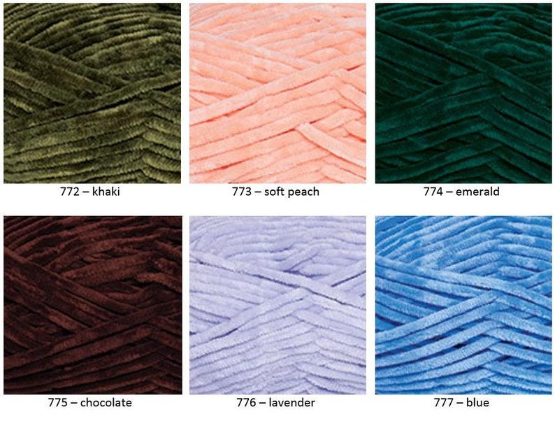 Tips & Tricks for Working with Bernat Velvet Yarn | 612x794