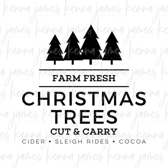 Farm Fresh Christmas Trees Svg.Farm Fresh Christmas Trees Svg Farm Fresh Svg Christmas Trees Svg Christmas Svg Farmhouse Svg Svg Dxf Jpg Cut File