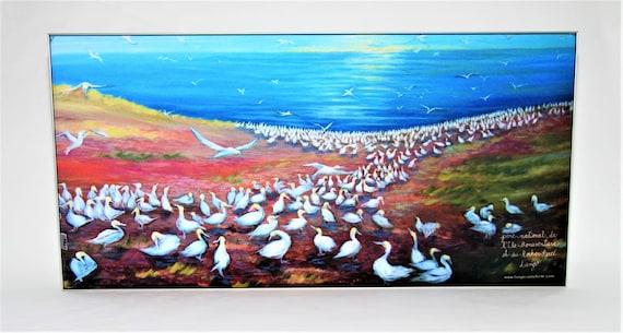 Painting reproduction, Bonaventure Island