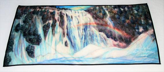 Towel Montmorency Falls A