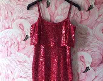47d3f0f3c432 Vintage Style Sequin Dress