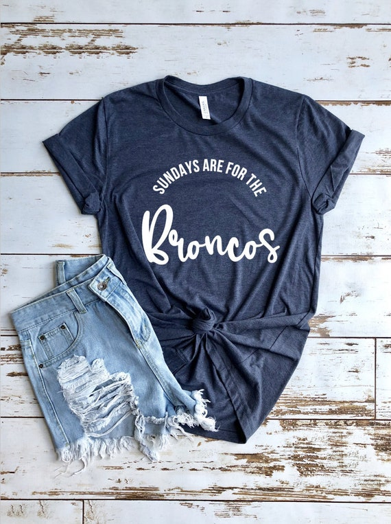 Broncos Shirt Women s Broncos Shirt Broncos Fan Gift  fd5407f4d2