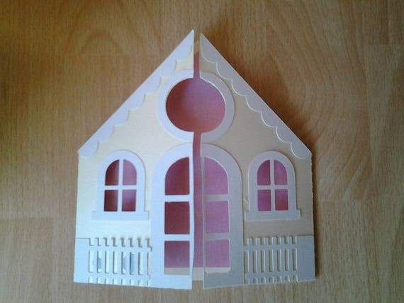 House Shape To Offer For A Housewarming Card