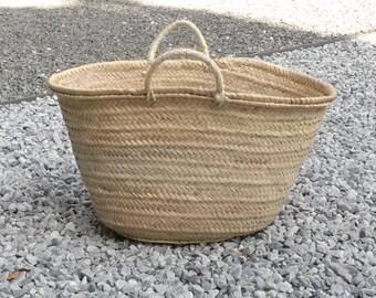 6a3986d71e06 Sac cabas ovale, sac à main en palmier, sac cabas anses courtes en palme,  sac d  été, sac de marché, cabas paille, tailles S, M, L, XL, XXL.