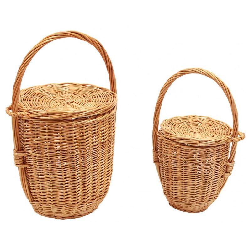 f398519ad1 Bag Jane Birkin bag Jane Birkin handbag Wicker round tote bag