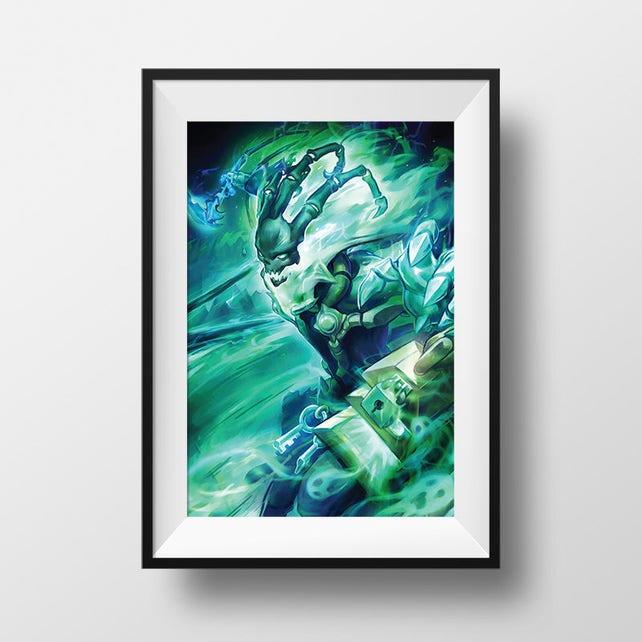 League of Legends Thresh Poster Print Wall Art Home Decor | Etsy