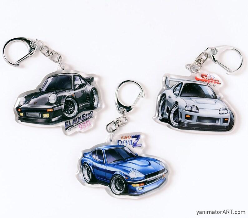 9844493cbec9 Wangan Midnight Cars Blackbird Porsche 930 JZA80 MK4 Toyota