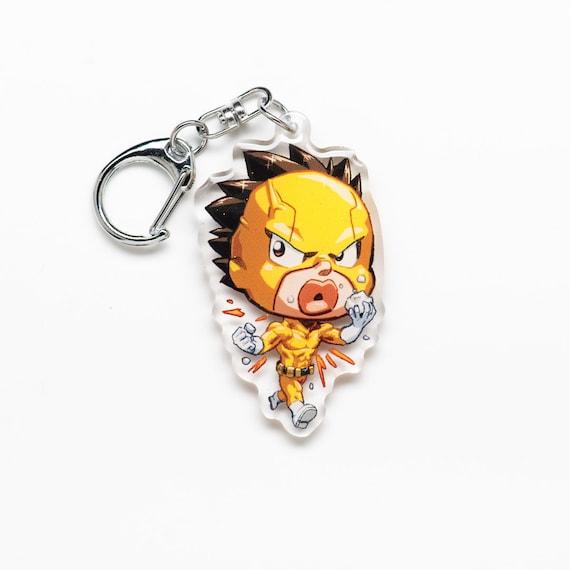 Bnha Hero Academia Rikido Sato Sugar Rush Acrylic Charm Keychain Double Sided Boku No Hero Itabag Anime Manga Gift Fanart