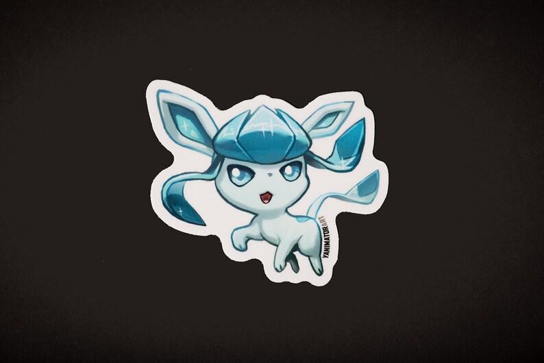 Pokemon Eeveelutions Cute Chibi Vinyl Sticker Nintendo