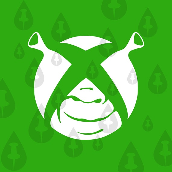 Shrexbox Funny Shrek Meme Svg Etsy