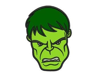 Hulk Applique Design - 5 SIZES