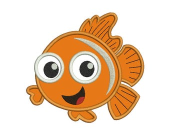 Nemo Applique Design #1 - 4 SIZES