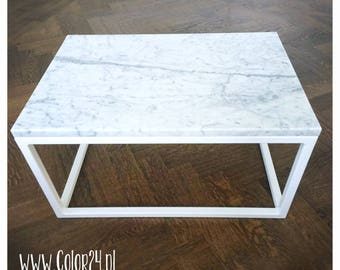coffee table, marble, modern interior