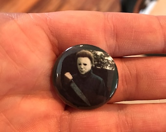 Michael Myers Halloween one inch button