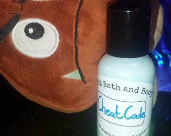 Cheat Codes body frosting lotion- 1oz,2oz, and 4oz bottles, 4oz jar