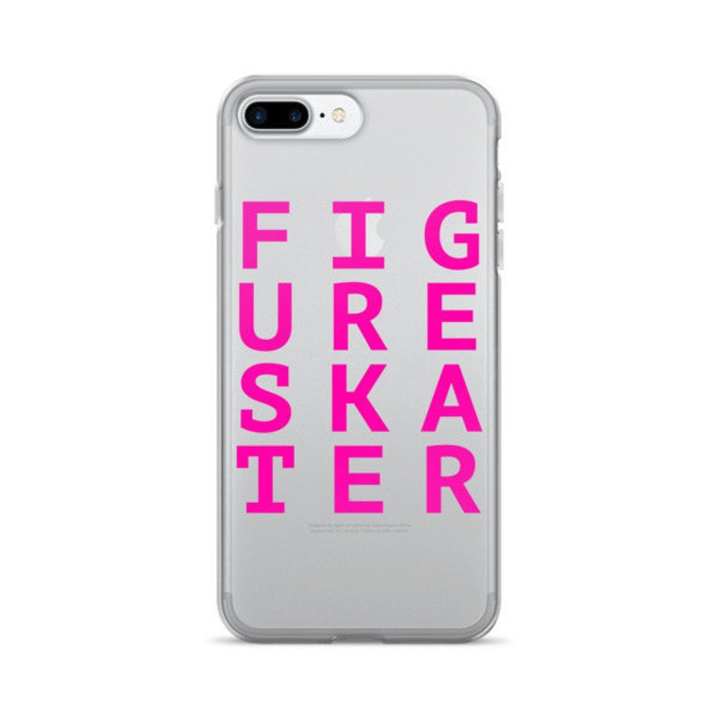 Figure Skater iPhone See Thru 7/7 Plus Case Made for Figure image 0