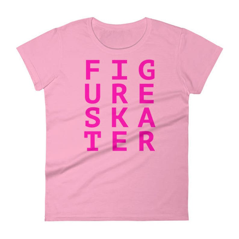 Figure Skater Women's Short Sleeve T-Shirt image 0