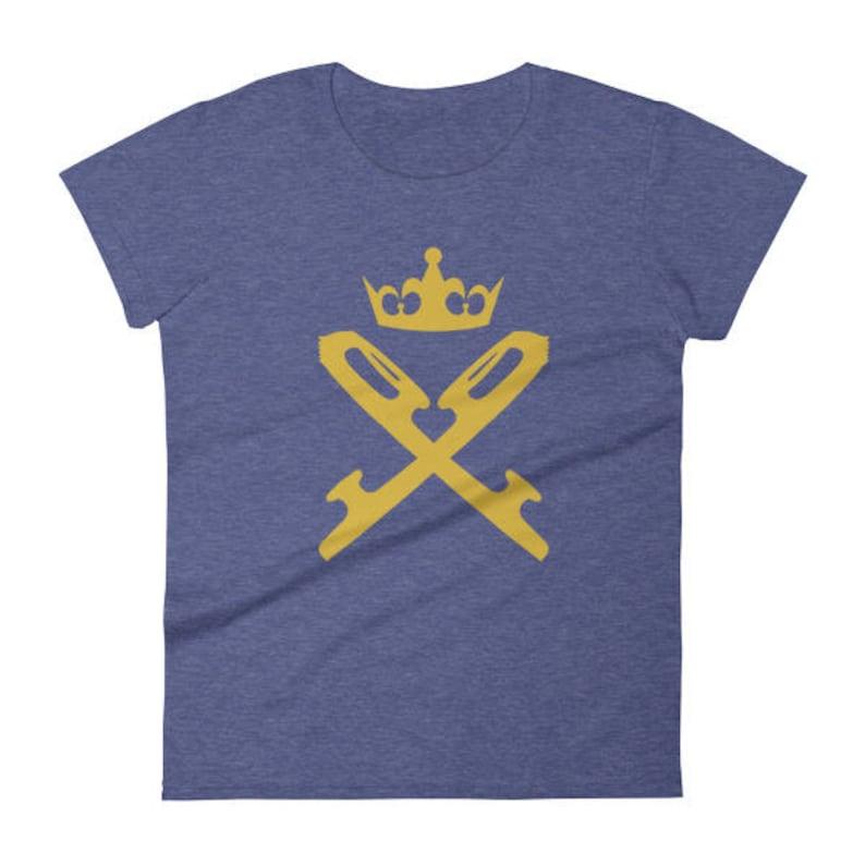 Skate Blades & Crown Women's Short Sleeve T-shirt For image 0