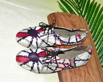 Wax shoes, Oxford Shoes moccasins, wax made by hand