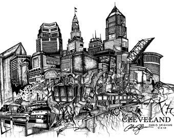 Cleveland Drawing 2010