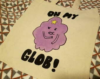 Adventure Time Lumpy Space Princess Themed Tote Bag