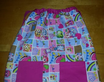Shopkins Fabric Backpack-Style Tote