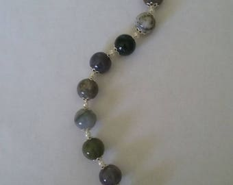 Fancy Jasper, Bracelet, Earrings,  Swarovski, Under 25.00