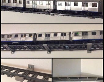 Lego Train Wall System for 10'x10' Room