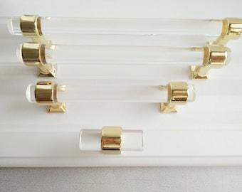 Acrylic Cabinet Knob | Etsy