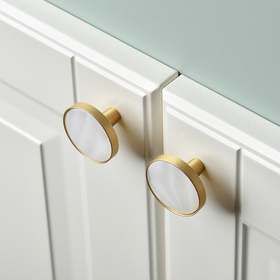 Brushed Brass Knobs Handles Drawer, Furniture Pulls And Handles