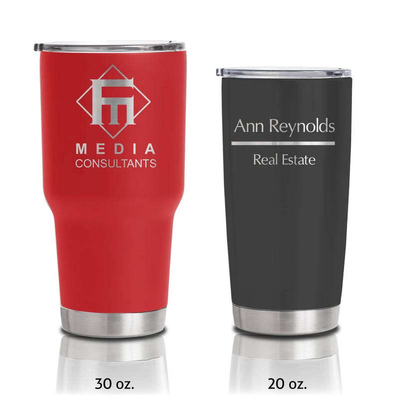20 ounce and 30 ounce Double Walled Insulated Stainless Steel image 0