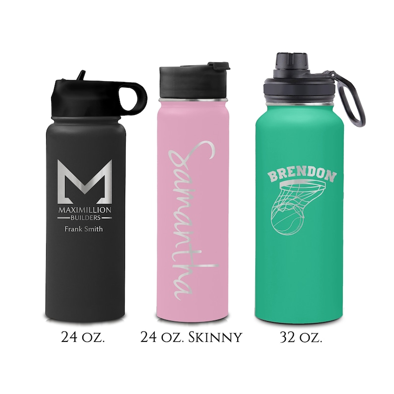 24 32 ounce Double Walled Stainless Insulated Steel Sport image 0