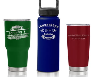 Group Order - 24 or more - Stainless Steel Tumblers and Custom Water Bottles