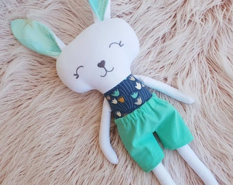 Handmade Bunny Rag Doll