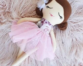 Rag Doll, Handmade Cloth Doll, Dolls and Daydreams