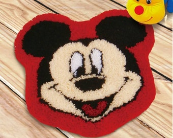 Mickey mouse teppich | Etsy