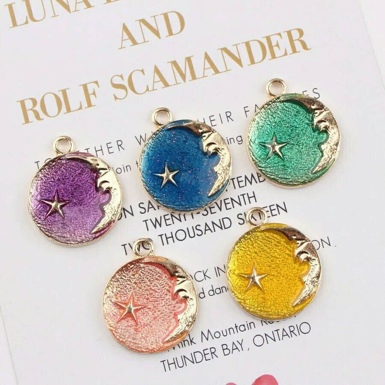 50pcs Alloy Pendants Butterfly Necklace Bracelets Earrings DIY Crafts Jewelry