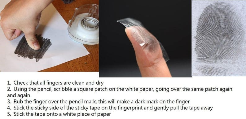 4mm Custom Actual Fingerprint Ring Blue Engraved Wedding Band Polished Titanium Ring